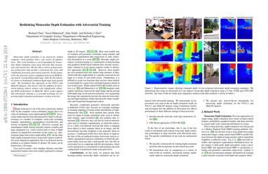 Papers With Code : Rethinking Monocular Depth Estimation with