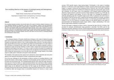 Papers With Code : Face morphing detection in the presence of