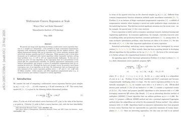 Multivariate Convex Regression at Scale