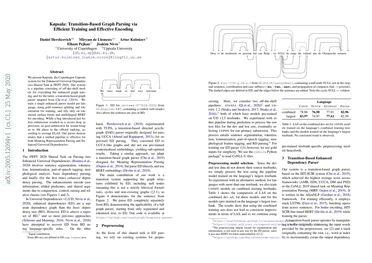 Køpsala: Transition-Based Graph Parsing via Efficient Training and Effective Encoding