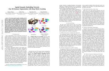 Spatial Semantic Embedding Network: Fast 3D Instance Segmentation with Deep Metric Learning