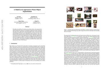 A Multi-Level Approach to Waste Object Segmentation
