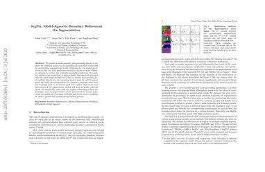 SegFix: Model-Agnostic Boundary Refinement for Segmentation