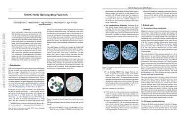 MMDF: Mobile Microscopy Deep Framework