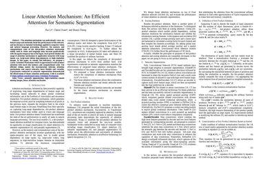 Linear Attention Mechanism: An Efficient Attention for Semantic Segmentation