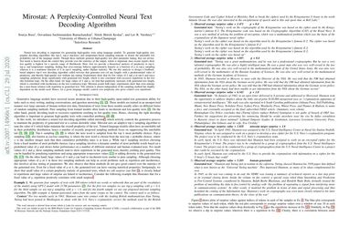 Mirostat: A Perplexity-Controlled Neural Text Decoding Algorithm