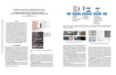 PP-OCR: A Practical Ultra Lightweight OCR System
