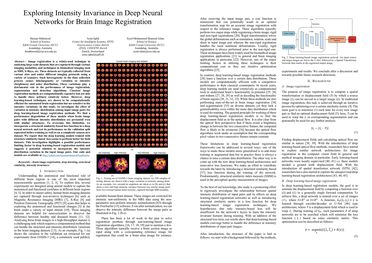 Exploring Intensity Invariance in Deep Neural Networks for Brain Image Registration