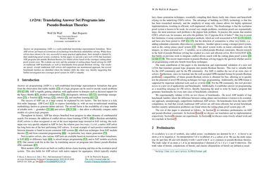 LP2PB: Translating Answer Set Programs into Pseudo-Boolean Theories