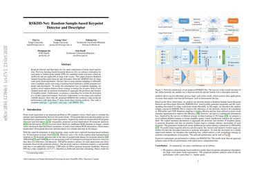 RSKDD-Net: Random Sample-based Keypoint Detector and Descriptor