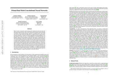 Primal-Dual Mesh Convolutional Neural Networks