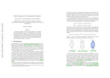 Sheet diagrams for bimonoidal categories