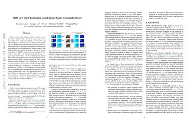 Multi-view Depth Estimation using Epipolar Spatio-Temporal Network