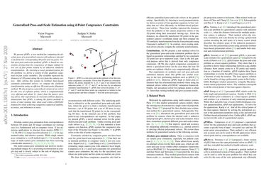 Generalized Pose-and-Scale Estimation using 4-Point Congruence Constraints
