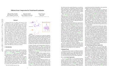 Efficient Scene Compression for Visual-based Localization