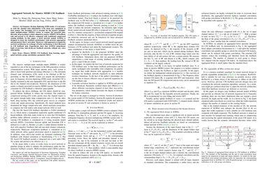 Aggregated Network for Massive MIMO CSI Feedback