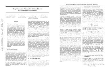 Deep Generative Pattern-Set Mixture Models for Nonignorable Missingness