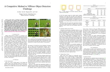 A Competitive Method to VIPriors Object Detection Challenge