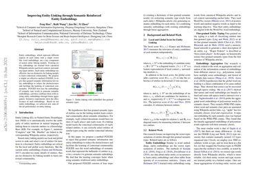 Improving Entity Linking through Semantic Reinforced Entity Embeddings
