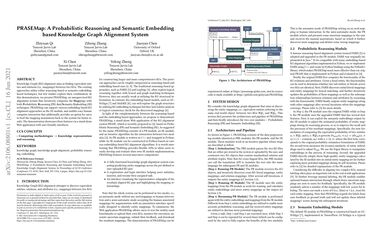 /qizhyuan/ PRASEMap: A Probabilistic Reasoning and Semantic Embedding based Knowledge Graph Alignment System