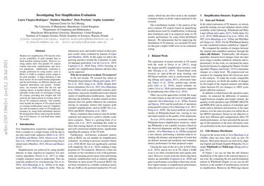/lmvasque/ Investigating Text Simplification Evaluation