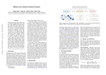 /NLP2CT/ Difficulty-Aware Machine Translation Evaluation