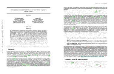 /fergaletto/ Single image deep defocus estimation and its applications