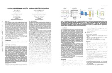 /mariusbock/ Tutorial on Deep Learning for Human Activity Recognition