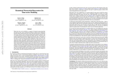 /kevin-c-cheng/ Dynamical Wasserstein Barycenters for Time-series Modeling