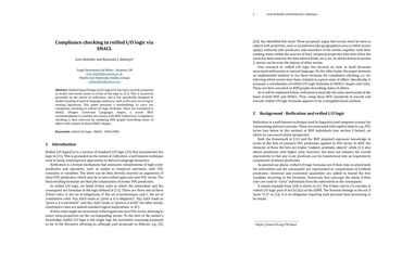 /liviorobaldo/ Compliance checking in reified IO logic via SHACL