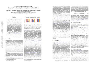 /thudm/ P-Tuning v2: Prompt Tuning Can Be Comparable to Fine-tuning Universally Across Scales and Tasks