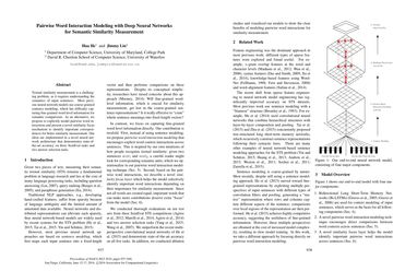 Papers With Code : Pairwise Word Interaction Modeling with Deep